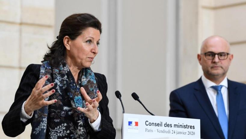 La ministre de la Santé Agnès Buzyn a confirmé dans la soirée du 24 janvier 2020 la présence de deux patients atteints du coronavirus sur le sol français. REUTERS/Alain Jocard/Pool