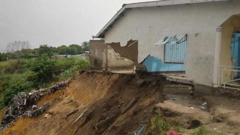 Brazzaville: le sentiment d'abandon des habitants d'Itsali face aux érosions