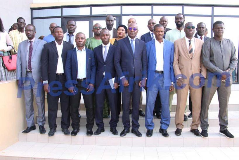 Abdoulaye Diop installe la commission de la carte nationale de presse et de la validation des acquis de l'expérience