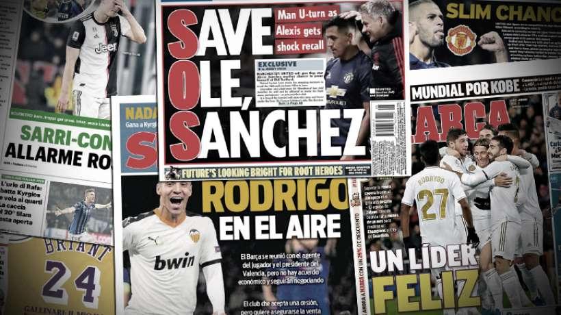 Manchester United sait déjà quoi faire du flop Alexis Sanchez l'été prochain, Maurizio Sarri et Antonio Conte en alerte rouge
