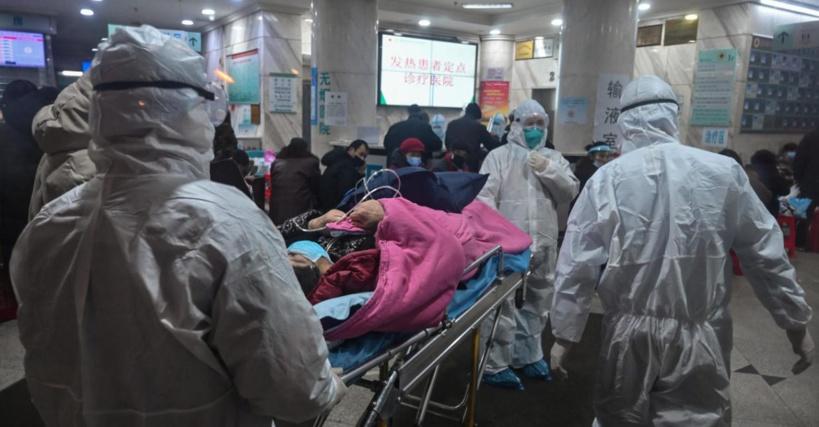 La Chine construit un hôpital en six jours