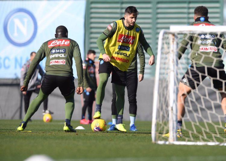 Naples: Après une absence de plus d'un mois, Koulibaly retrouve le chemin de l'entrainement