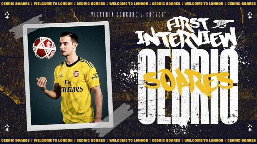 #Mercato - Arsenal accueille Cedric Soares
