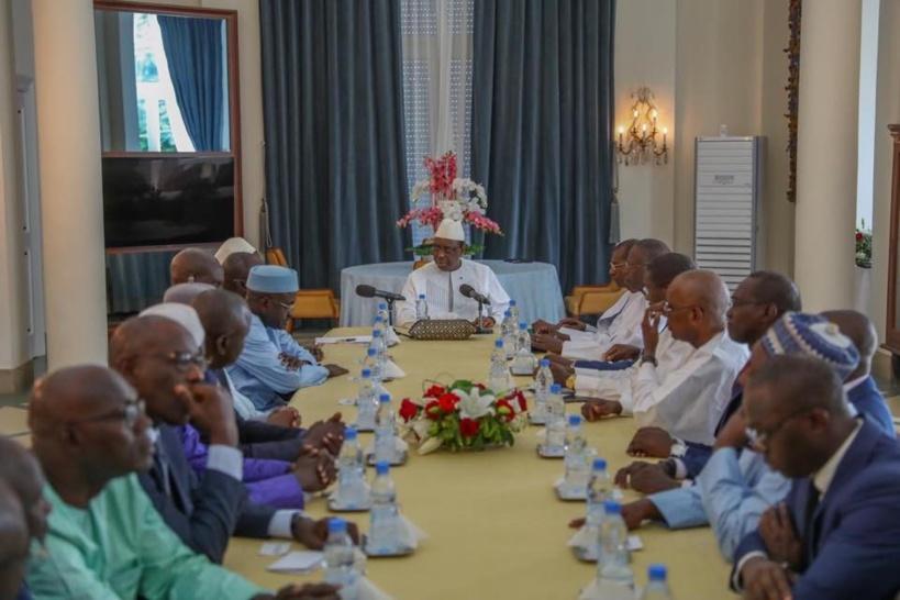 Crédit photo: Page Facebook Présidence du Sénégal