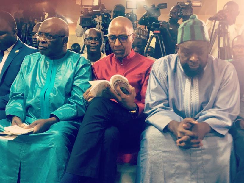 Sonko, Khalifa Sall, Abdoul Mbaye, Déthié Fall..., présents à la cérémonie de dédicace du livre de Pape Alé (IMAGES)