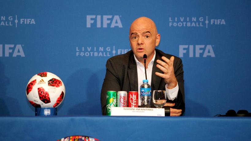 Fifa: Gianni Infantino propose d'organiser la CAN tous les quatre ans