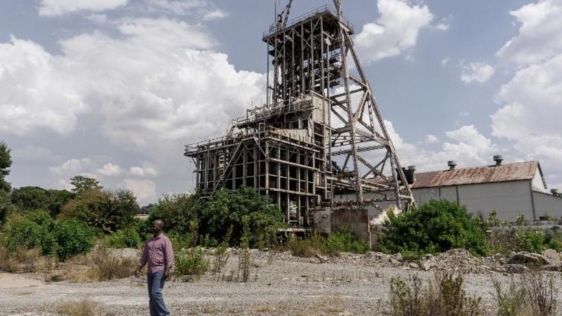 Une mine d'or désaffectée en Afrique du Sud. (image d'illustration) GIANLUIGI GUERCIA / AFP