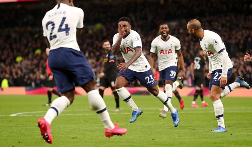 #PremierLeague - Tottenham relègue Manchester City à 22 points de Liverpool