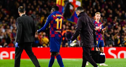 Barça: Ousmane Dembélé digère mal sa nouvelle blessure