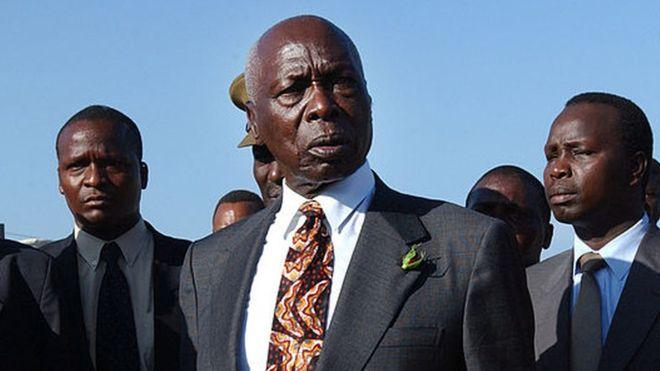 Daniel Arap Moi est décédé à l'âge de 95 ans