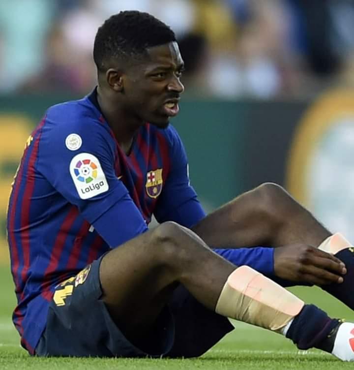 """Ousmane Dembélé: les tests subis par le joueur confirment une """"blessure grave"""""""