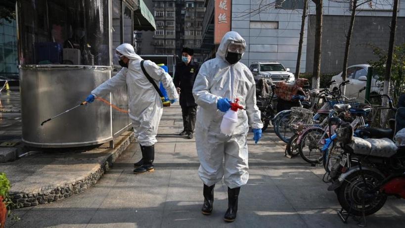 La ville de Wuhan et sa région, épicentre de l'épidémie, sont coupées du monde depuis le 23 février 2020. Hector RETAMAL / AFP