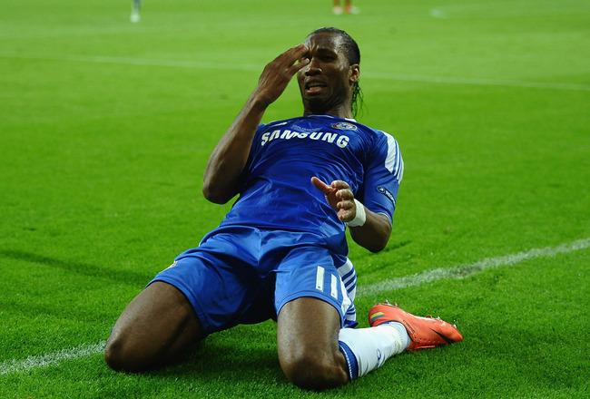 Drogba quitte Chelsea après lui avoir offert la ligue des champions