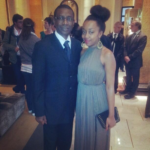 Les images de Youssou N'Dour à Cannes