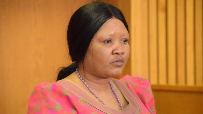 """La première dame du Lesotho accusée d'avoir assassiné """"sa rivale"""""""