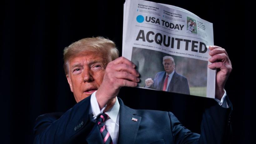 Procès en destitution: Trump acquitté dans une Amérique divisée