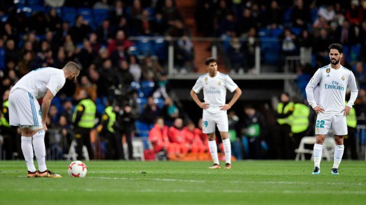 Le Real Madrid éliminé de la Coupe du roi dès les quarts de finale
