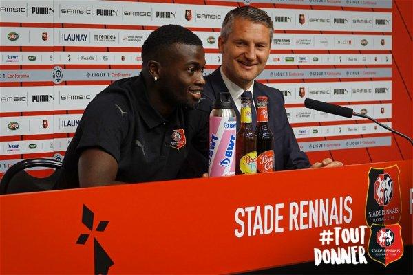 Stade Renais: Mbaye Niang très touché par l'éviction du président Olivier Letang
