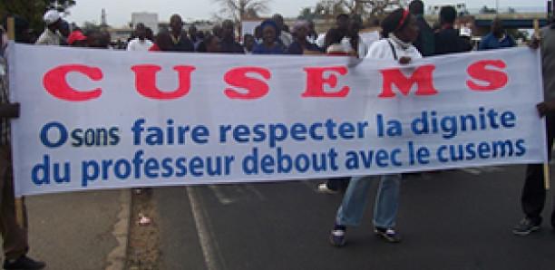 L'URD invite le gouvernement à ne plus signer des accords avec les syndicats d'enseignants