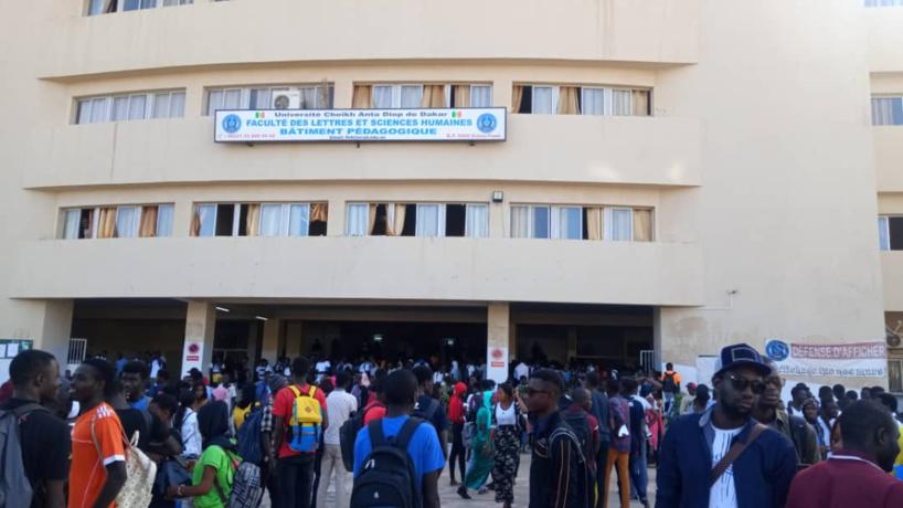 Election de représentativité à l'Ucad: les étudiants de la FLSH dénoncent l'implication des autorités politiques et menacent d'aller en grève illimitée