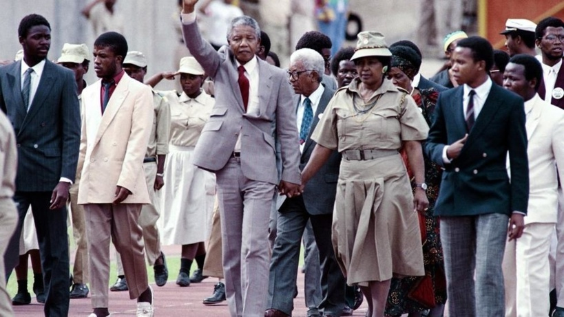 Il y a 30 ans, Nelson Mandela sortait de prison…