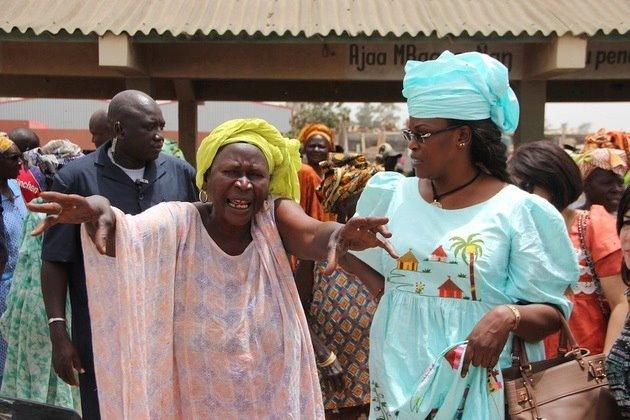 Marième Faye Sall au marché au poisson de Pikine: Une visite aux allures de meeting politique