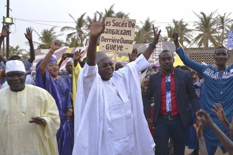 Sangalkam: le ministre Omar Gueye et ses militants en campagne