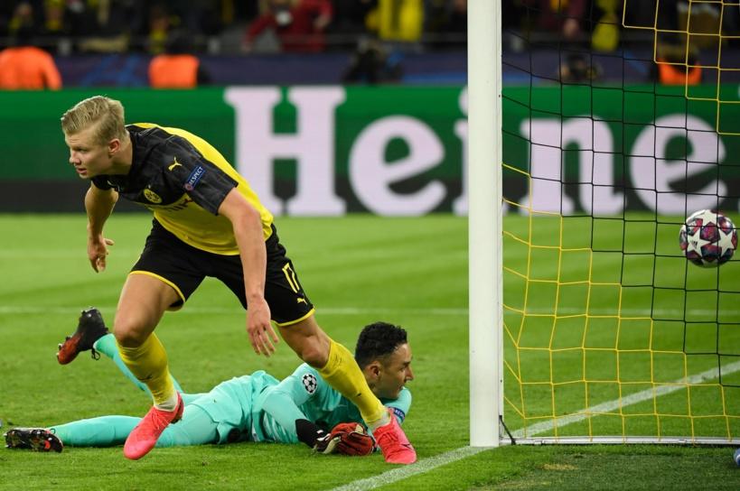 8e de finale aller: Haaland défait le PSG (2-1)