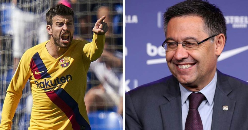 Barça: Gerard Piqué s'en prend à un journaliste