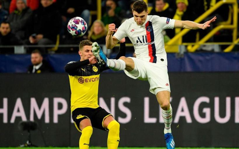 Dortmund-PSG: Thomas Meunier ne savait pas qu'il était sous le coup d'une suspension