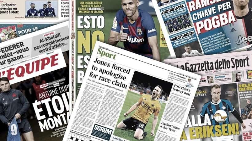 La presse madrilène enrage contre la dernière recrue du FC Barcelone, Nasser al-Khelaïfi fait les gros titres