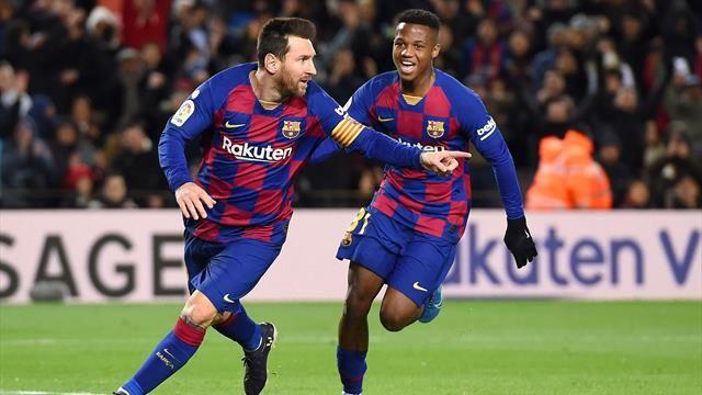 Liga: le Barça s'impose à domicile contre Eibar, Messi auteur d'un magnifique quadruplé