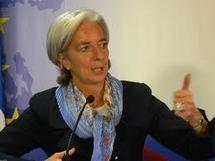 La directrice du FMI Christine Lagarde demande aux Grecs de payer leurs impôts