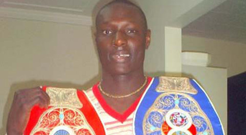 Boxe : Mohamed Aly Ndiaye conserve sont titre de champion d'Europe