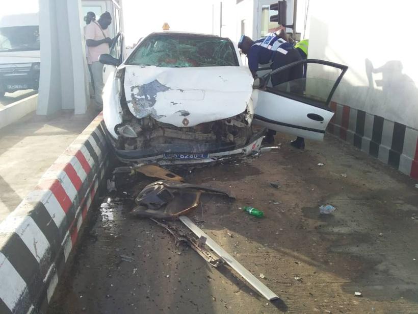 Des blessés graves suite à un accident sur l'autoroute à péage de Toglou