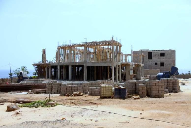 PHOTOS: Les immeubles de Cheikh Amar entièrement payés par l'ARTP toujours en début de chantier