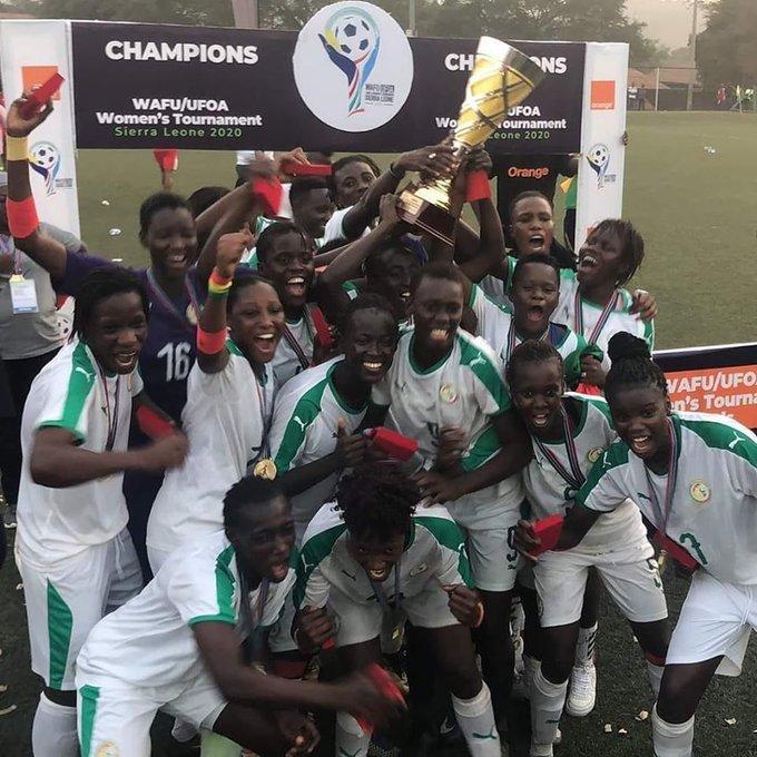 Finale Ufoa Dames: le Sénégal remporte le trophée en battant le Mali (3-0)
