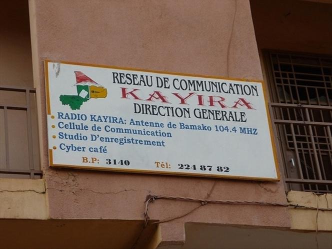 Mali: les responsables de radio Kayira réfutent les accusations d'appel à la haine