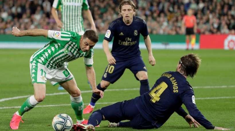Liga: le Real Madrid chute devant Betis et perd la première place