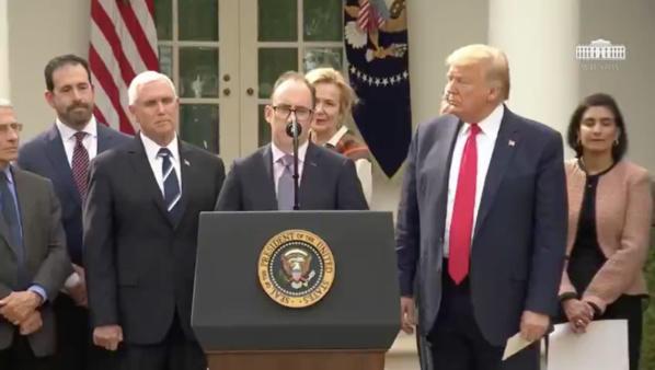 #Coronavirus - Donald Trump a déclaré l'Urgence nationale aux USA