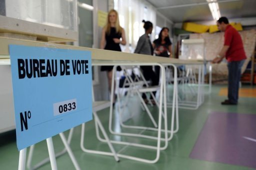 France / législatives 2012: participation de 21,06% à la mi-journée