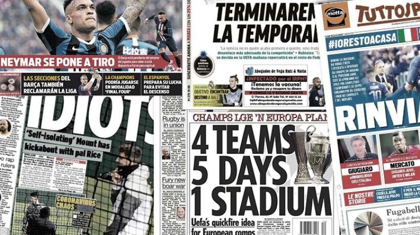 Le Barça lance les grandes manœuvres pour Lautaro Martínez, le plan de l'UEFA pour les coupes d'Europe se dessine