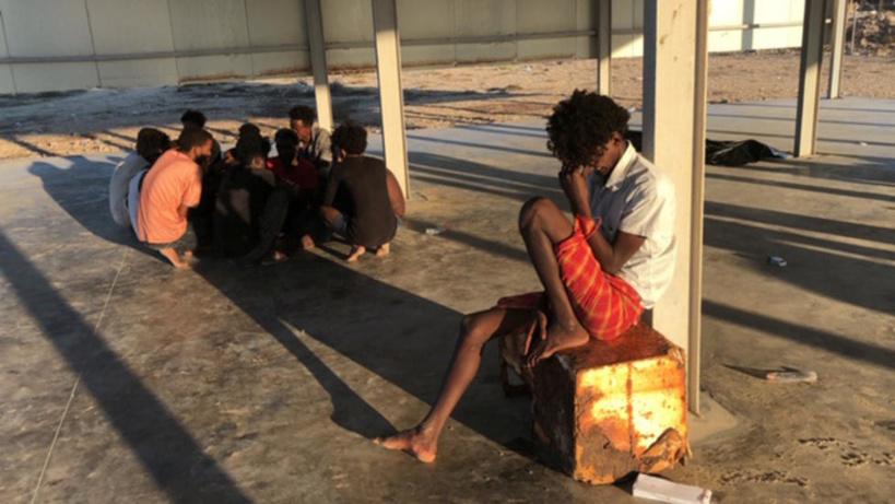 Refoulement de migrants au large de Malte redébarqués en Libye