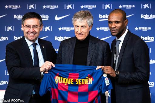 FC Barcelone: Quique Sétien va rester !