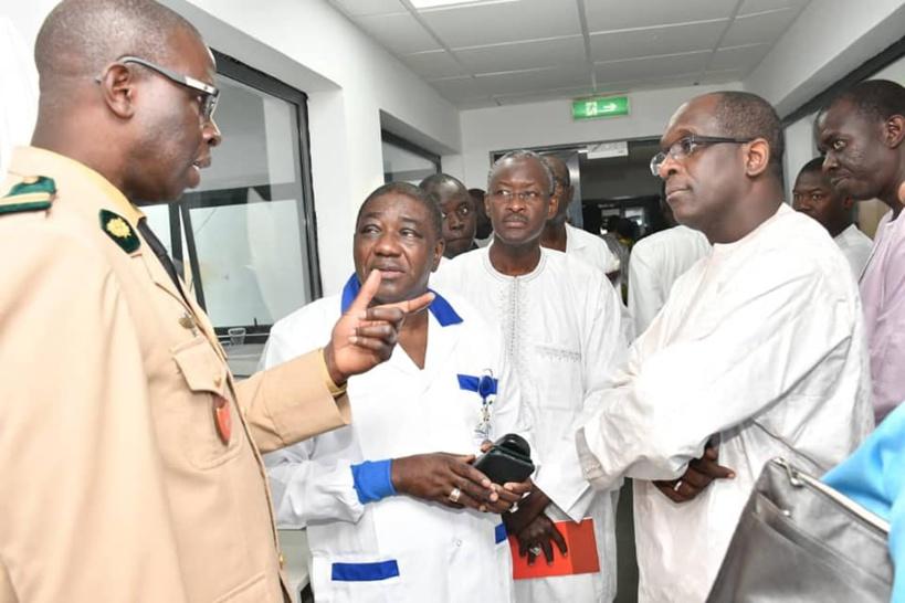 #Covid_19 - Abdoulaye Diouf Sarr implique enfin le Docteur Souleymane Mboup et son institut dans le dispositif de tests