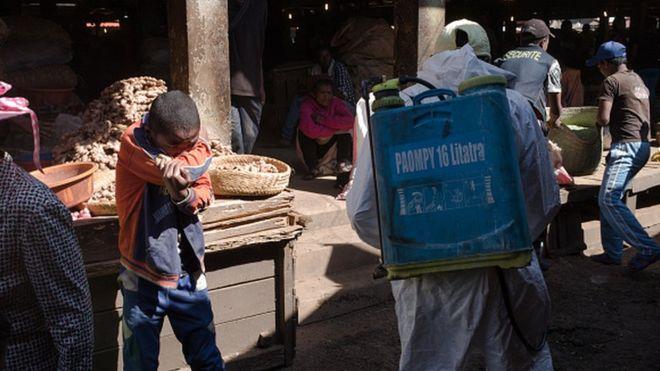 Des populations confinées à partir de ce lundi à Madagascar