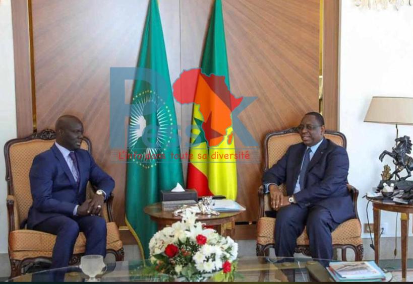 Malick Gakou au Palais : « Le Sénégal uni,  peut vaincre toute bataille »