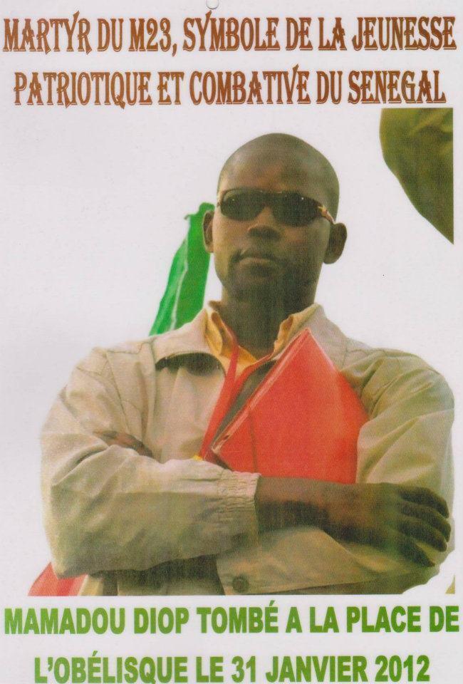 Commémoration du 23 juin : Mamadou Diop élu député posthume