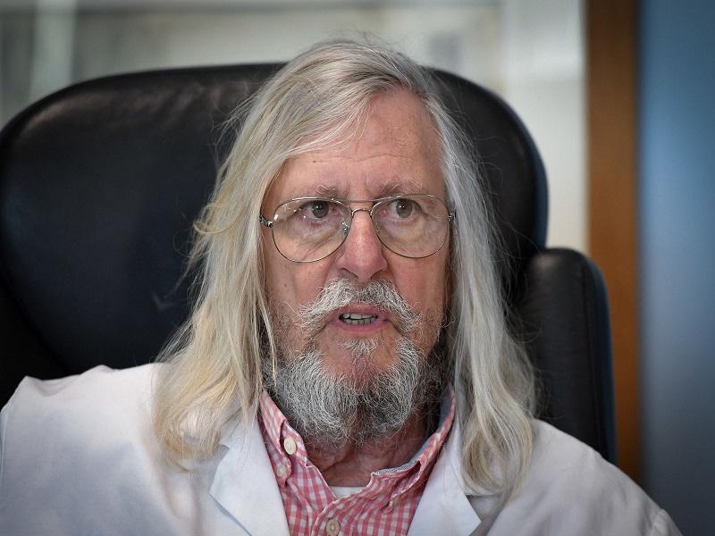 Coronavirus et chloroquine: le Pr Raoult publie une nouvelle étude