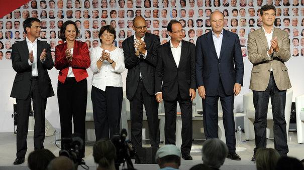 Le Parti socialiste seul maître à bord du bateau France